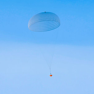 European Space Agency tests giant parachute for its 2021 ExoMars mission